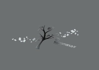 Λογότυπο της Kartomania.gr που εμφανίζεται ένα δέντρο με φύλλα