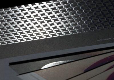 Εκτύπωση σε 350gr Velvet, ματ πλαστικοποίση & τοπικό UV