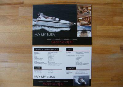 A5 Flyer  Χαρτί 350 gr Velvet Ματ πλαστικοποίηση