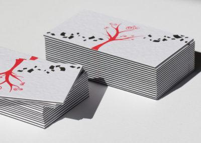 Λαμιναριστή κάρτα με 3 φύλλα
