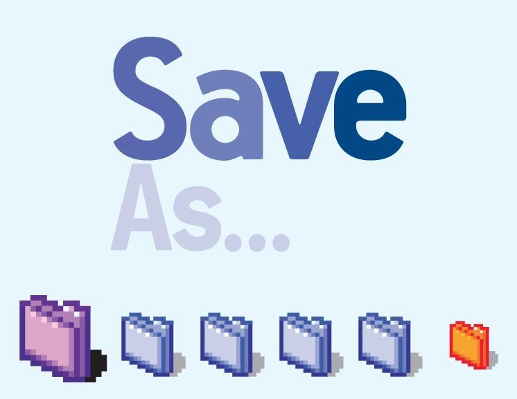 Save as… Αρχειοθέτηση και Ονοματολογία