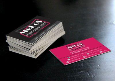 Εκτύπωση επαγγελματικών καρτών με λαμινάρισμα 2 φύλλων