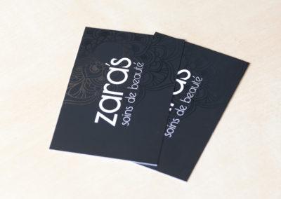 Εκτύπωση επαγγελματικής κάρτας, χαρτί 350gr Velvet, ματ πλαστικοποίηση, τοπικό UV