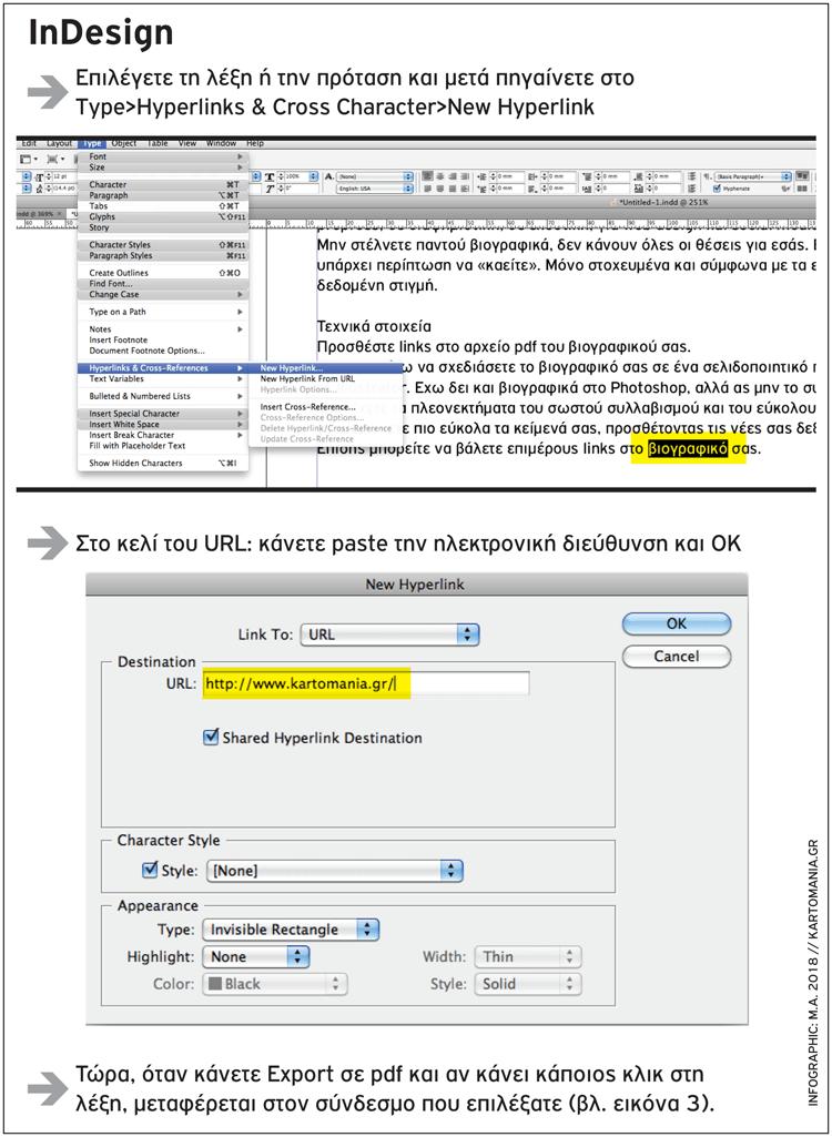 Ενεργά links στο PDF αρχείο σας