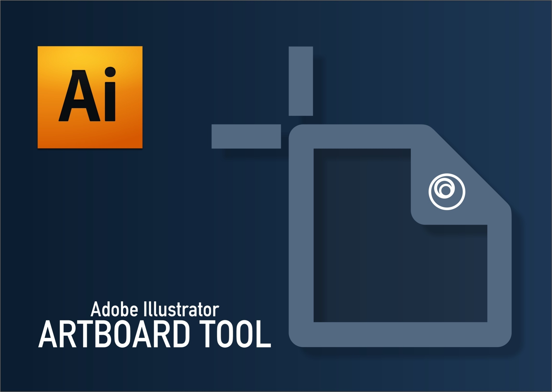 Adobe Illustrator-Artboard Tool