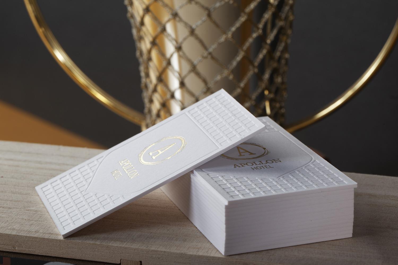 hot foil and letterpress
