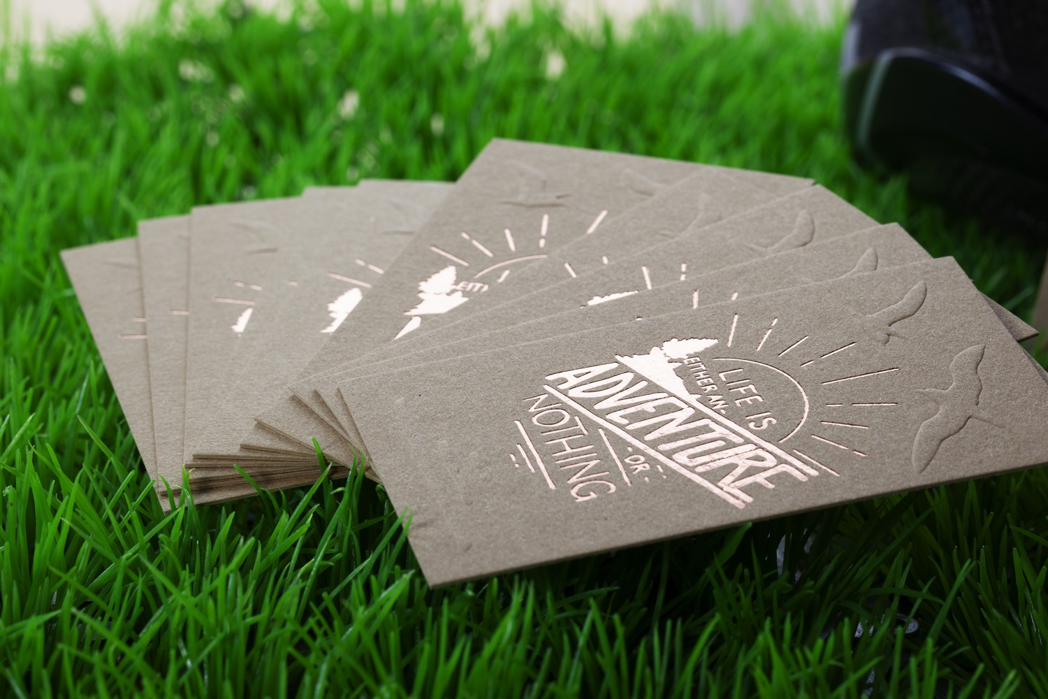 hotfoil and embossing