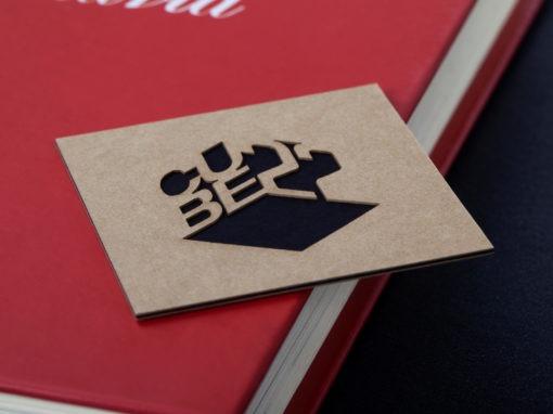 Επαγγελματική Κάρτα με κοπή Laser και Λαμινάρισμα