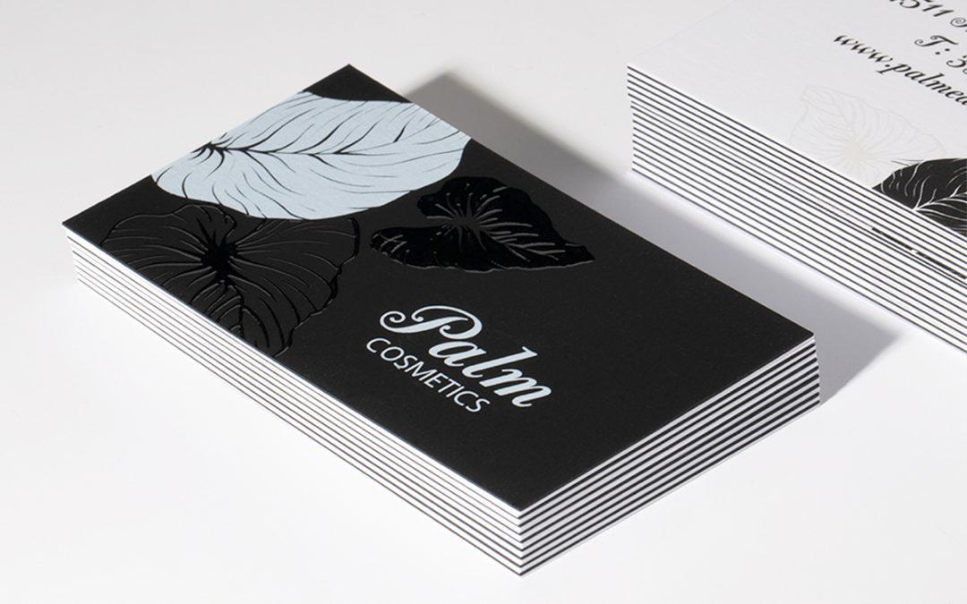 Λαμιναριστή κάρτα με 3D UV σε άσπρο και μαύρο χαρτί Plike
